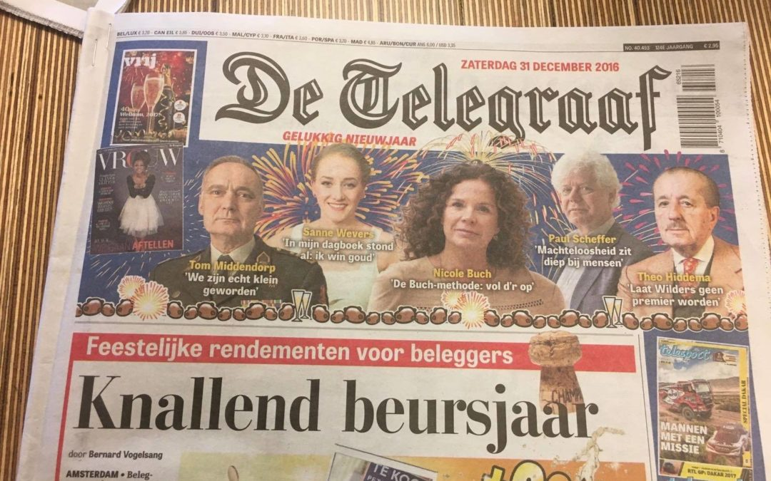 Telegraaf, december 2016